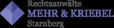 Kanzlei MEHR & KRIEBEL Logo